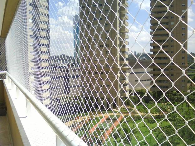 24b6e1f20 Rede tela de proteção para janelas e sacadas com kit de instalação ...
