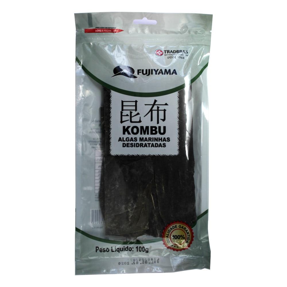 Alga Marinha Hidaka Kombu Fujiyama - 100 gramas