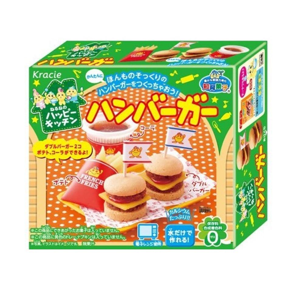 Kracie Popin Cookin para Montar Kit Hamburger - 22 gramas