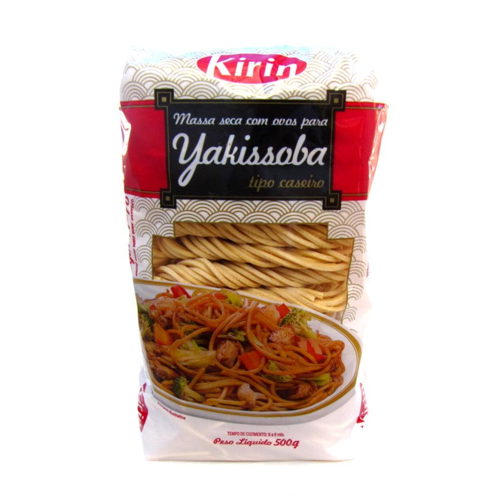 Macarrão para Yakissoba tipo caseiro Kirin - 500 gramas