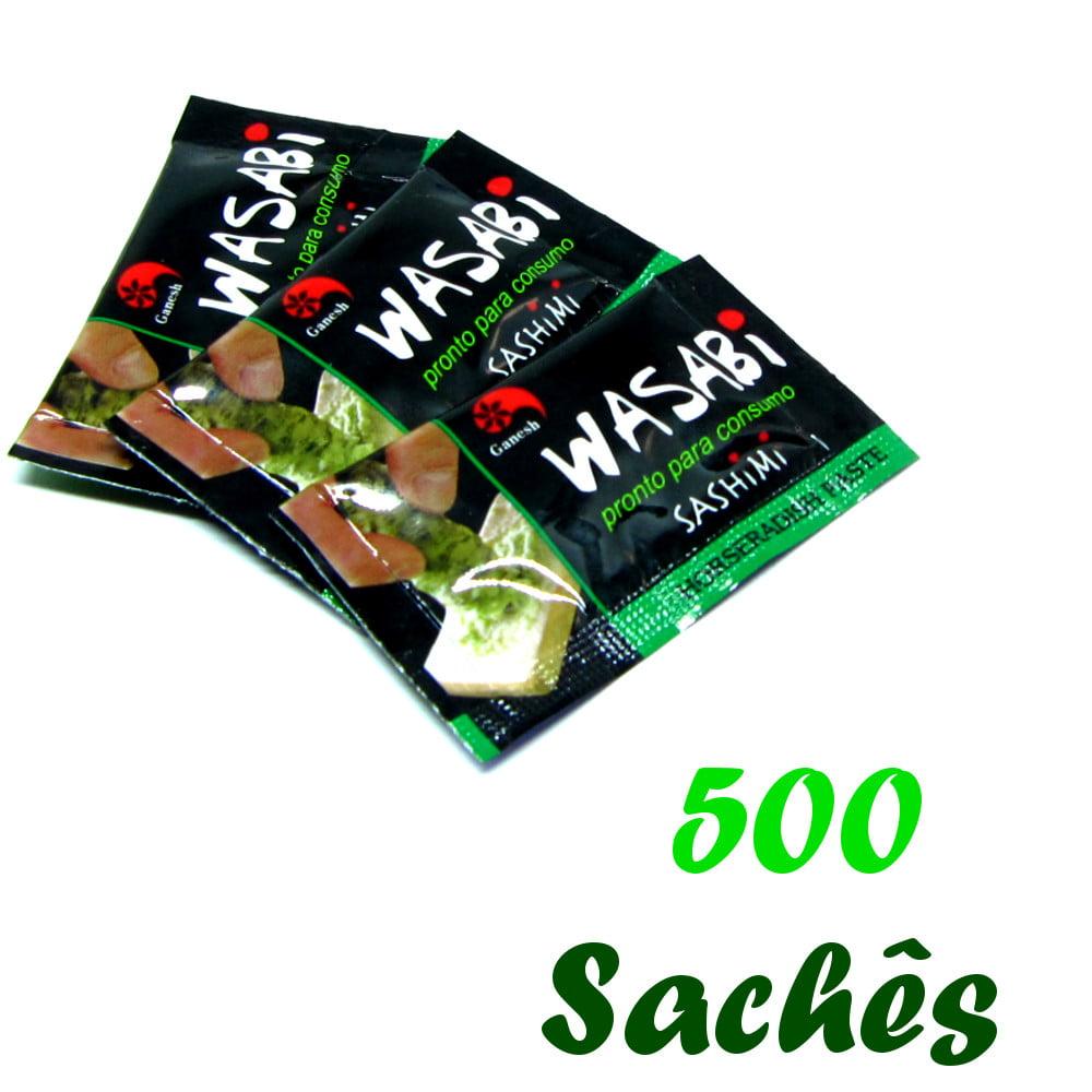 Pimenta Wasabi (Raiz Forte) em Sachê Ganesh - 500 unidades