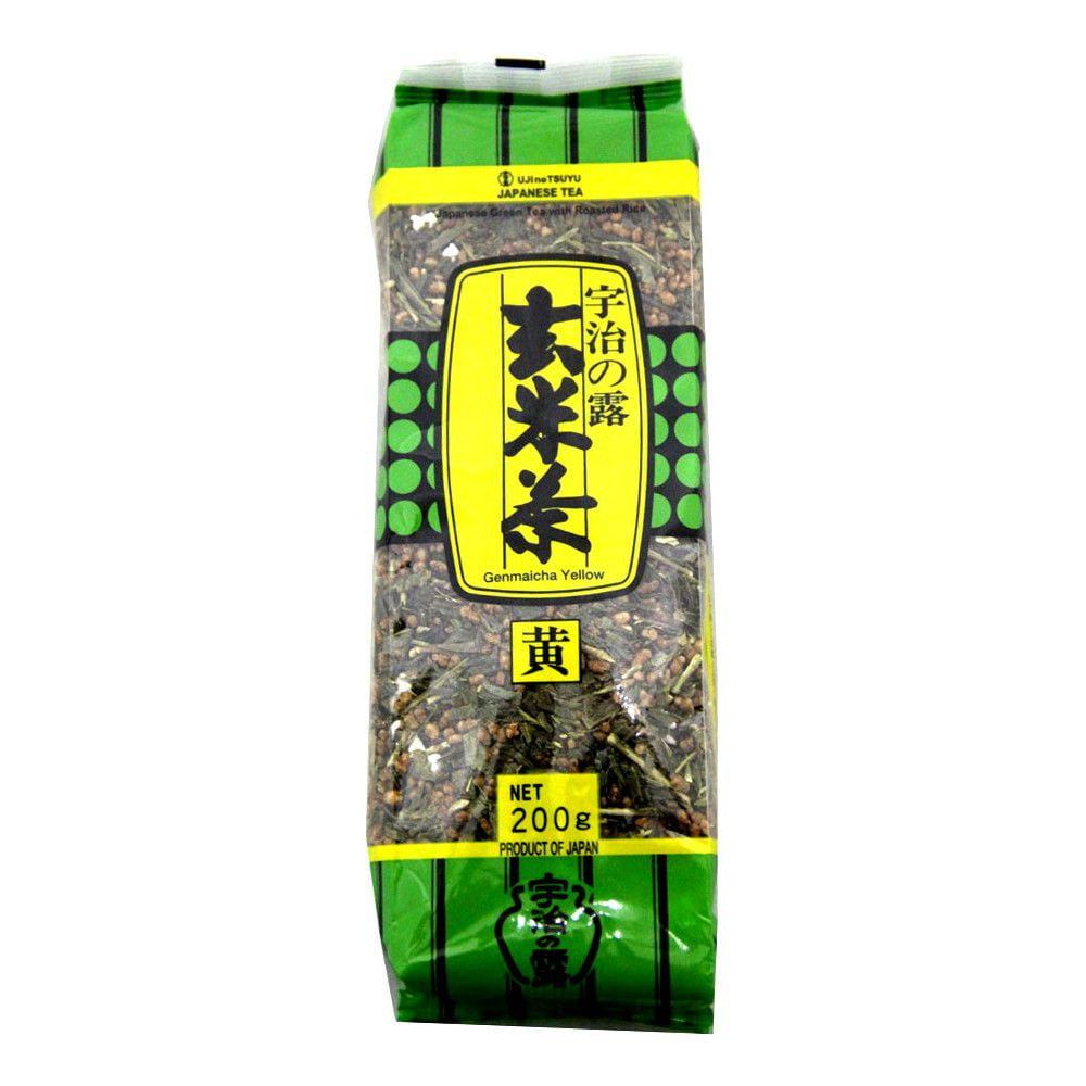 Chá Verde Japonês Genmaicha Yellow - 200 gramas