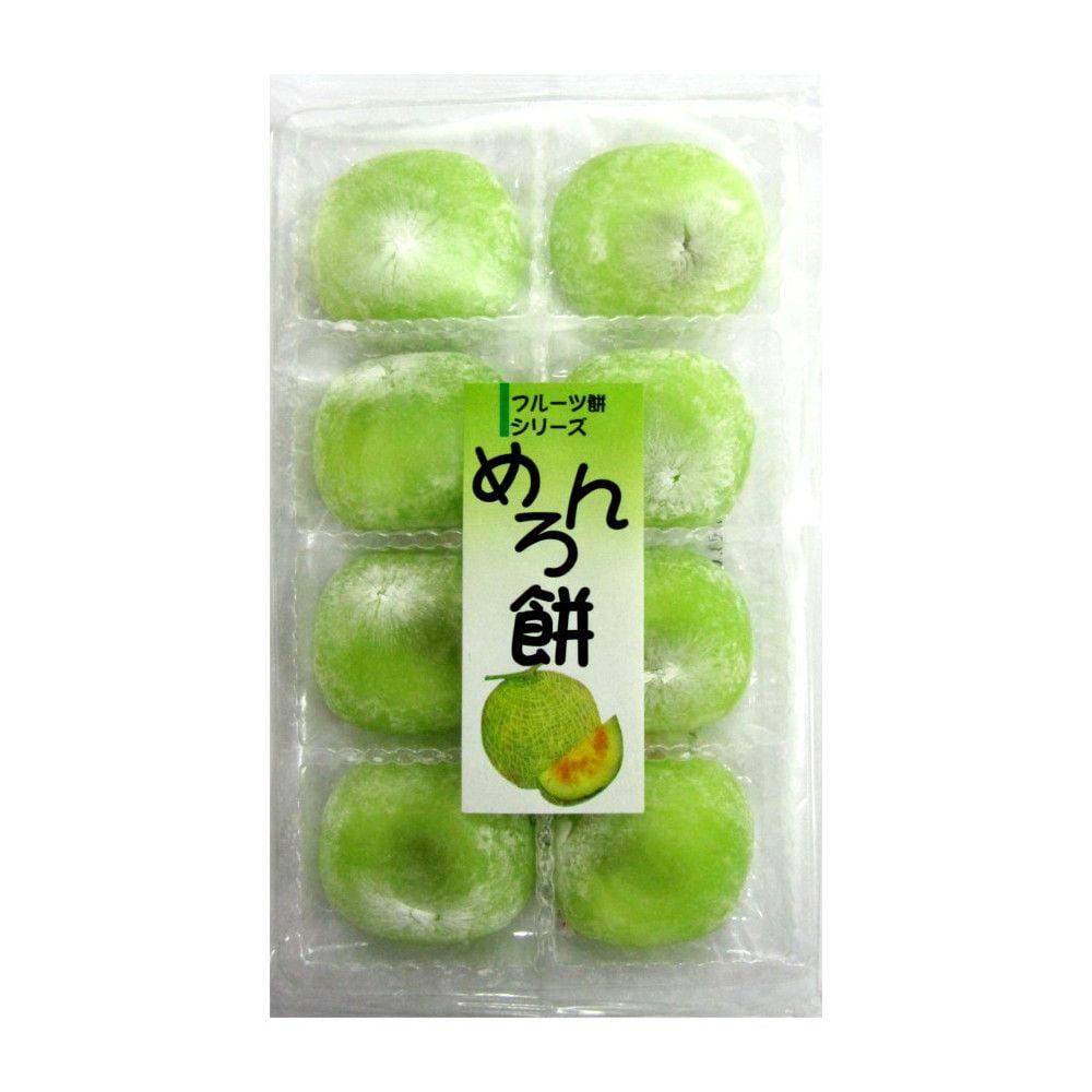 Doce Japonês de Arroz Moti Sabor Melão - 230 gramas