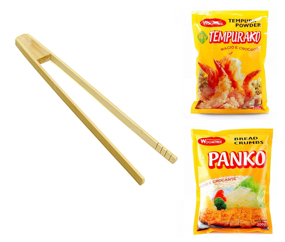 Kit para Preparo e Fritura de Empanados Orientais - 3 Itens