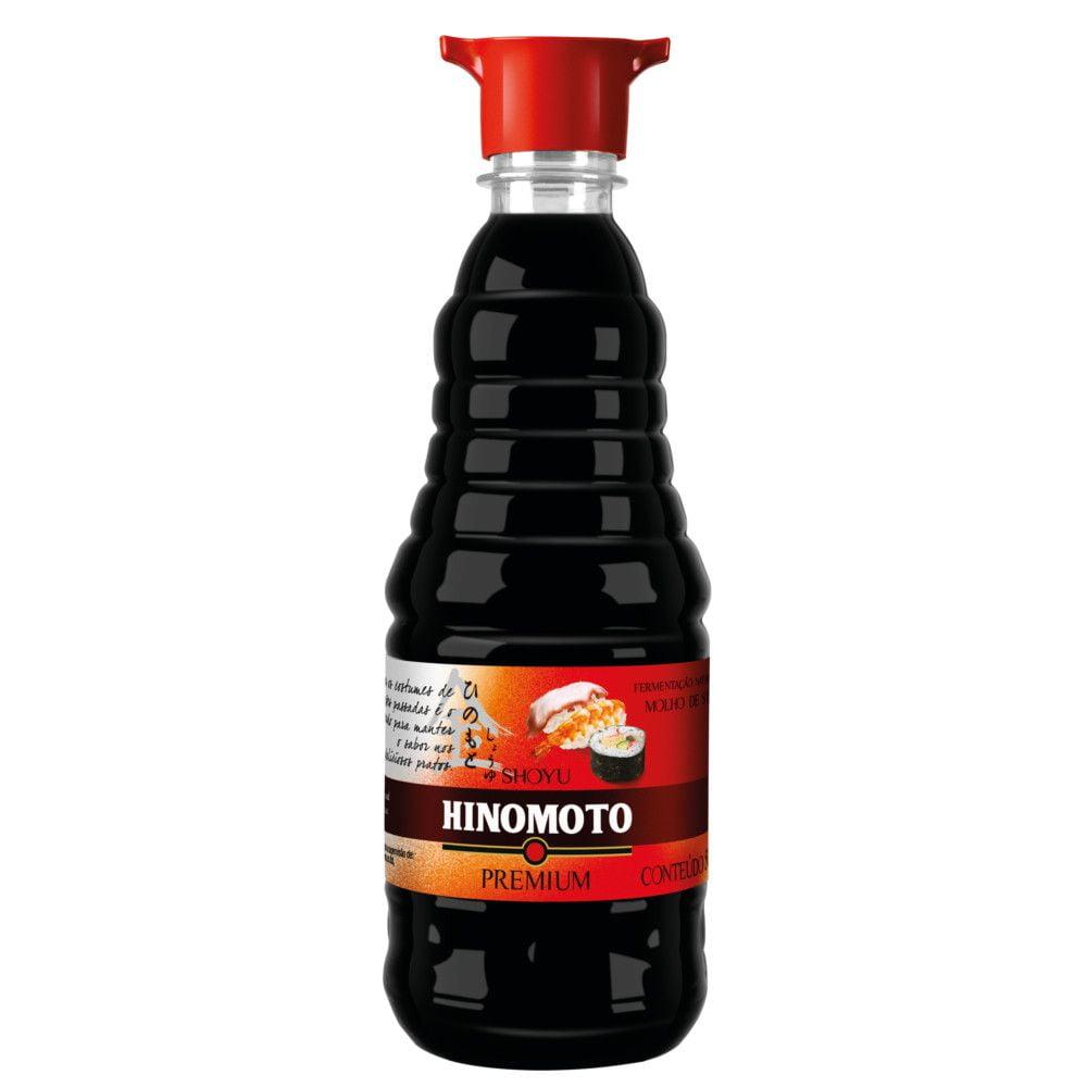 Molho de Soja Shoyu Hinomoto Premium - 500 mL