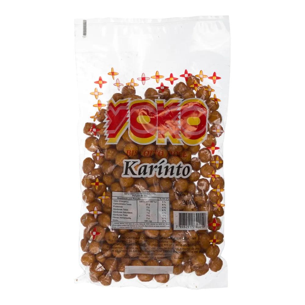 Biscoito Doce Yoko Karinto tipo japonês - 200 gramas