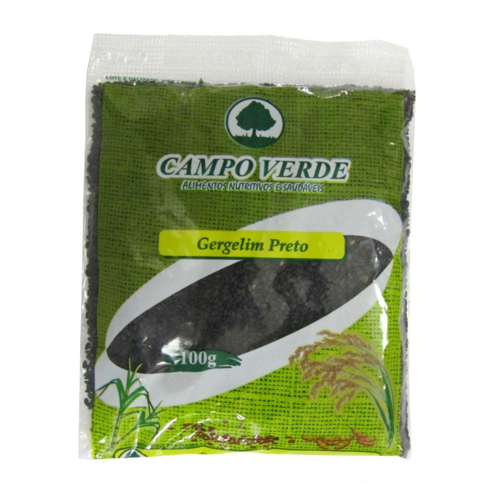 Gergelim Preto Campo Verde - 100 gramas