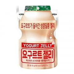 Bala Mastigável de Gelatina Sabor Yogurt - 50 gramas