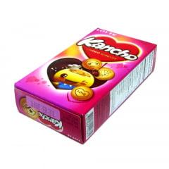 Biscoito com Recheio de Chocolate Kancho Lotte - 42 gramas