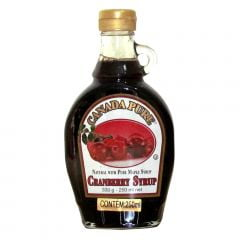 Xarope Cranberry Syrup Canada Pure – 250 mL