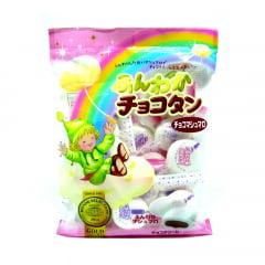Marshmallow Japonês Recheado Sabor Chocolate - 90 gramas