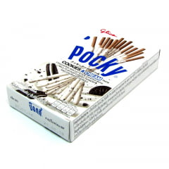 Pocky Biscoito Palito  Sabor Cookies& Cream Taste Glico - 45 gramas