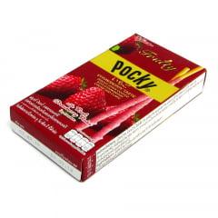 Pocky Fruity Especial Biscoito Palito Sabor Morango Glico - 35 gramas