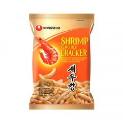 Salgadinho Importado Coreano Sabor Camarão  - Shrimp Flavoured Cracker 75 gramas