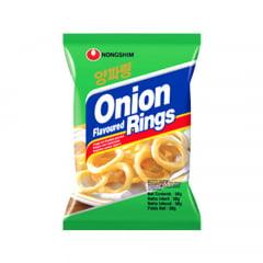 Salgadinho Importado Coreano Sabor Cebola Onion Flavored Rings Cebola - 50 gramas