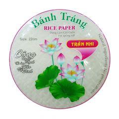 Folha de Arroz (Rice Paper) Harumaki Wraps Bánh Tráng – 340 gramas
