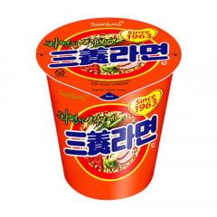 Lamen Coreano Copo Sabor Carne & Vegetais Picante Samyang Ramyun - 65g