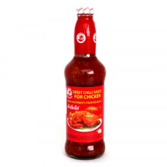 Molho de Pimenta Tailandesa  Doce Para Frango Sweet Chili Sauce Cock Brand - 800g