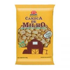 Pipoca Canjica de Milho Salgada 100% natural Okoshi - 50 gramas