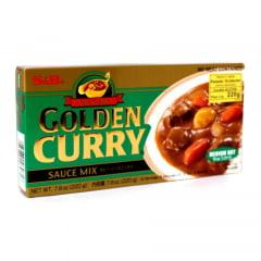 Tempero Golden Curry com Sabor Picante nível Médio S&B - 220 Gramas