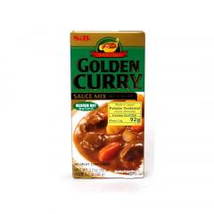 Tempero Golden Curry com Sabor Picante nível Médio S&B - 92 gramas