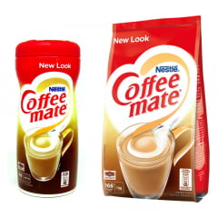 KIT COFFEE MATE NESTLÉ PARA CAFÉ REFIL KILO + POTE 400G