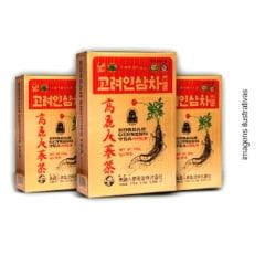 Korean Ginseng Tea Gold  50 sachês - 3 caixas