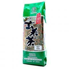 Chá Verde Genmaichá com Arroz Integral Ujinotsuyu - 400 gramas