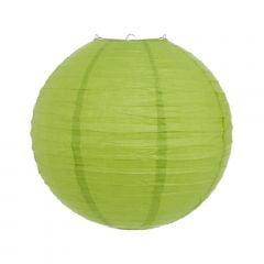 Luminária Oriental Verde Claro Lisa - 35 cm