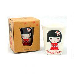 Copo Porcelana Hana Tian – Branco