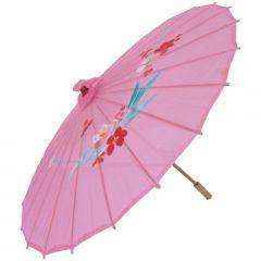 Sombrinha Oriental Rosa - 83 cm