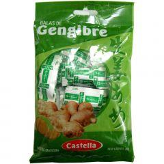 Balas de Gengibre (Choga) Castella - 60 gramas