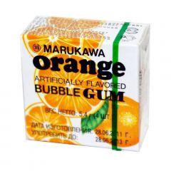 Chiclete Sabor Laranja Marukawa Bubble Gum - 48 unidades