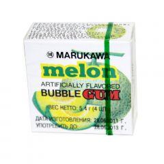Chiclete Sabor Melão Marukawa Bubble Gum - 48 unidades