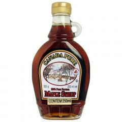Xarope De Bordo Maple Syrup Natural Canada Pure - 100%