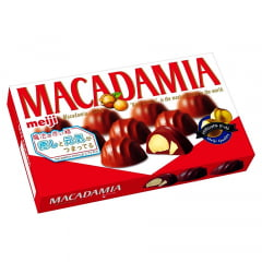 Chocolate Fino com Macadamia Japonês  Meiji – 64 gramas