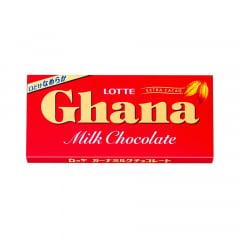 Chocolate Japonês ao Leite Ghana Lotte – 50 gramas