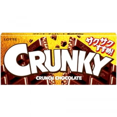 Chocolate Japonês Crunky alo Leite Crocante – 45 gramas