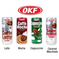 Kit Café ao Leite Lata OKF  - 4 Sabores