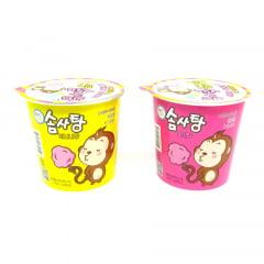 kit de algodão doce coreano - 2 Sabores