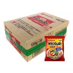 Caixa de Lamen Coreano Neoguri Udon Sabor Picante e Frutos do Mar 100g - 20 Pacotes