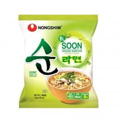 Lamen Coreano Vegetariano Suave Nongshim Ramyun - 112 gramas