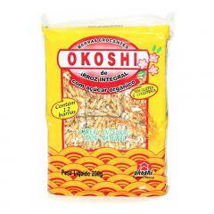 Okoshi Integral de Arroz Integral com Açúcar Orgânico - 200 gramas