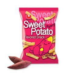 Salgadinho Importado Coreano Sabor Batata Doce Sweet Potato Snack - 55 gramas