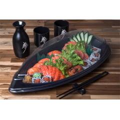 Embalagem Descartável Big Boat para Comida Japonesa - Sushi Today 50 unidades