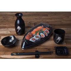 Embalagem Descartável Boat para Comida Japonesa - Sushi Today 100 unidades