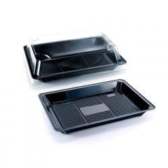 Embalagem Plástica Sushi 01 para Servir Comida Japonesa - 100 unidades