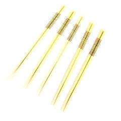 Jogo de Hashi  (Palitinho Japonês) Bambu Listrados - 5 Pares