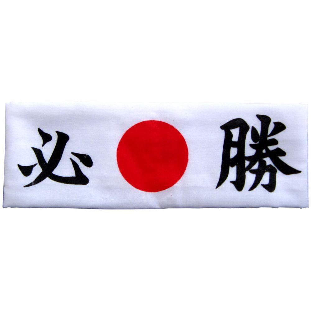 Faixa Japonesa Hachimaki para Sushiman - Branca