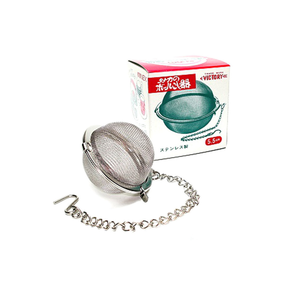 Infusor de Chá e Especiarias Aço Inox - 5,5cm